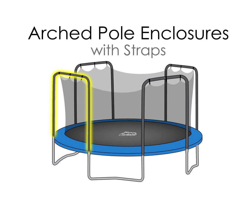 Replacement Net for 12ft Trampolines - Fits 4 Arch Poles