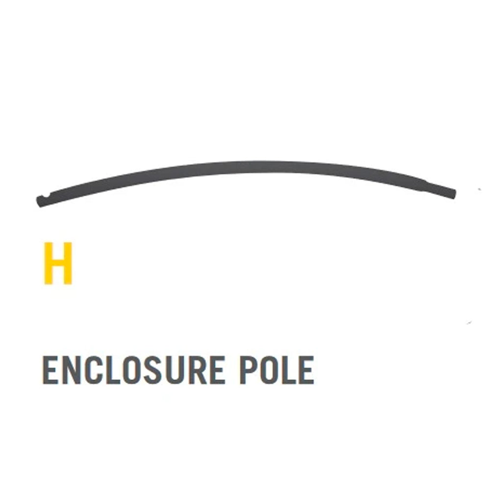 Upper Enclosure Pole for Stratos Trampolines (Part H) V1