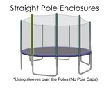 Replacement Net for 14ft Trampolines - Fits 8 Straight Poles (Using Pole Sleeves)
