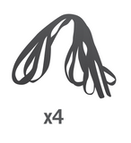 Enclosure Rope for Stratos/Cirrus Trampolines - Set of 4 (Part O)