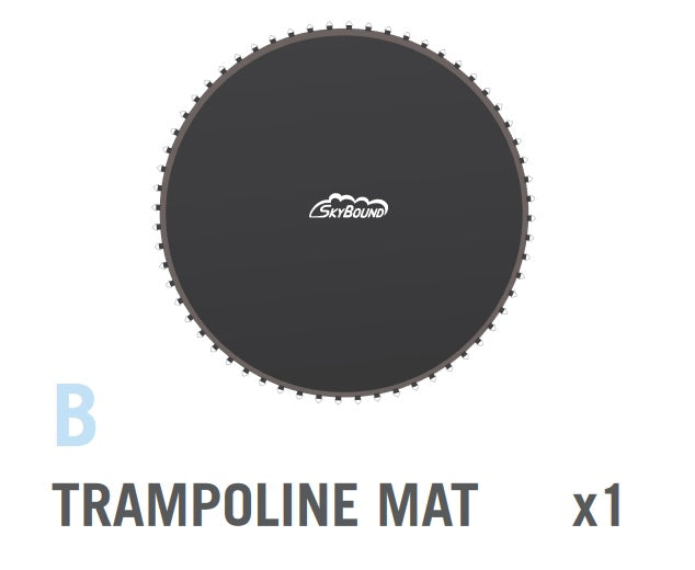 Mat for 14 foot Cirrus Trampoline (Part B)