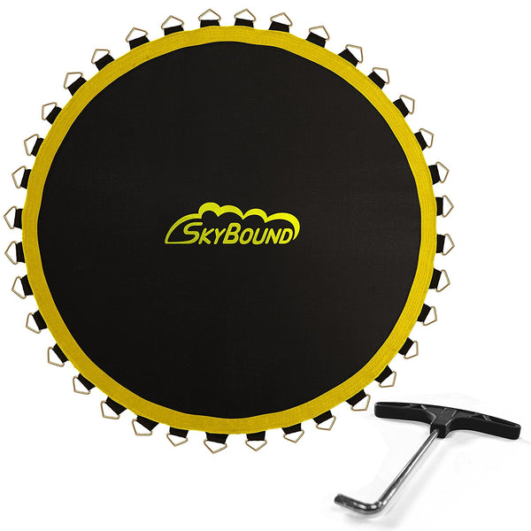 Premium 14 Foot Trampoline Mat With 72 Rings Compatible
