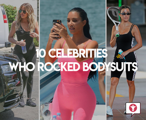 10 celebrities who rocked bodysuits