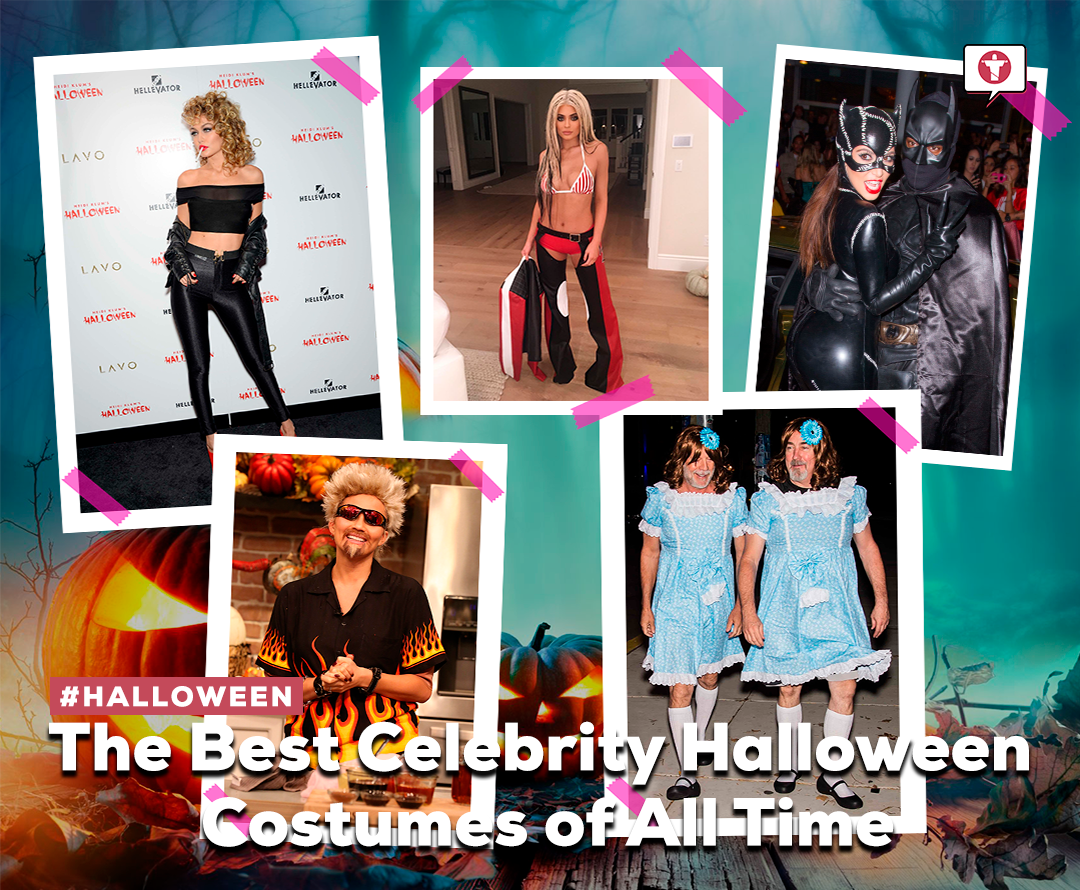 The Best Celebrity Halloween Costumes of All Time