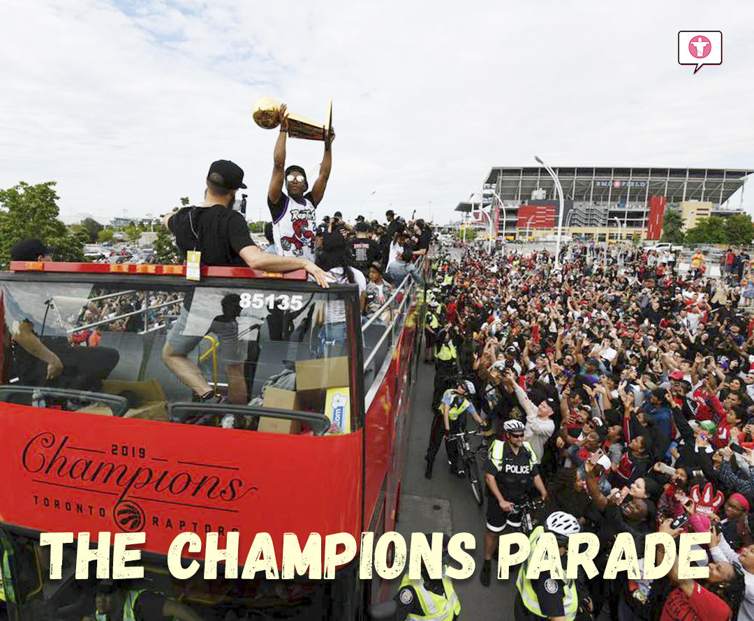 The Toronto Raptors Victory Parade