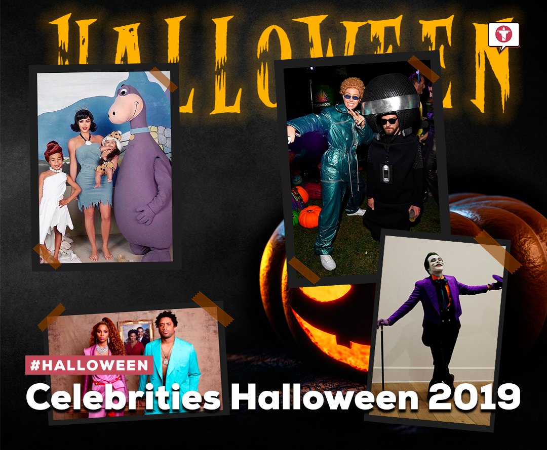 Celebrities Halloween 2019