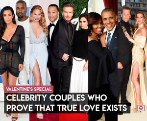 Celebrity couples who prove that true love exists