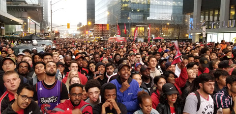 NBA Toronto Raptors Jurassic Park, Maple Leaf Square