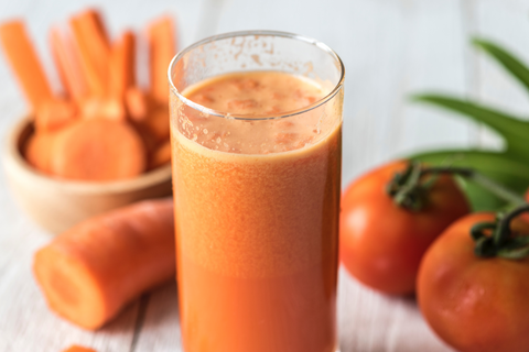 Orange detox juice health benefits