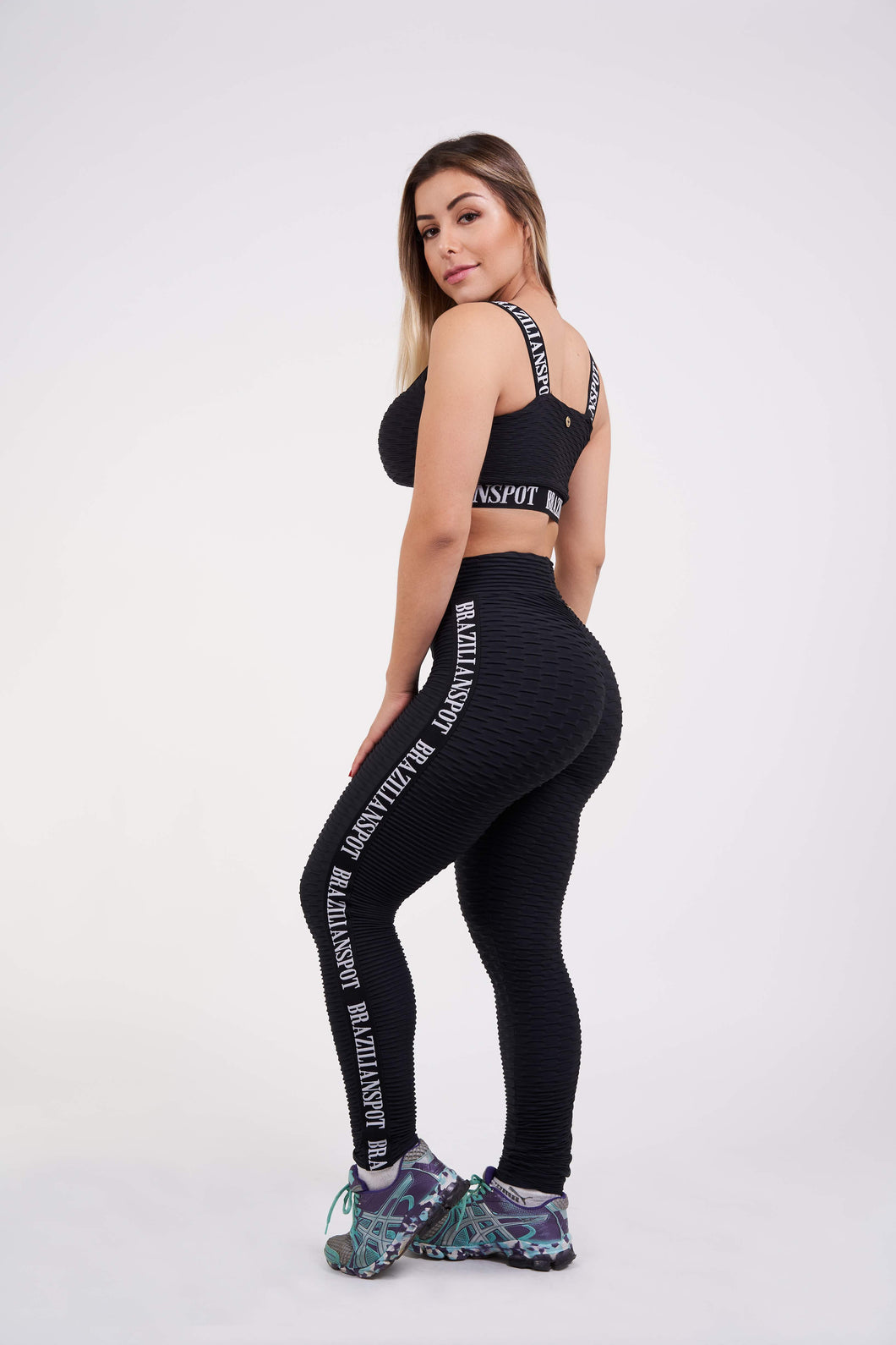 Brazilian Bae Legging - Black