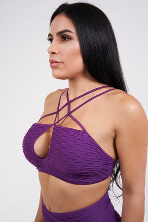 Nara Top - Purple