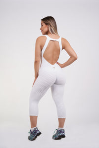 Katia Yoga Bodysuit - White