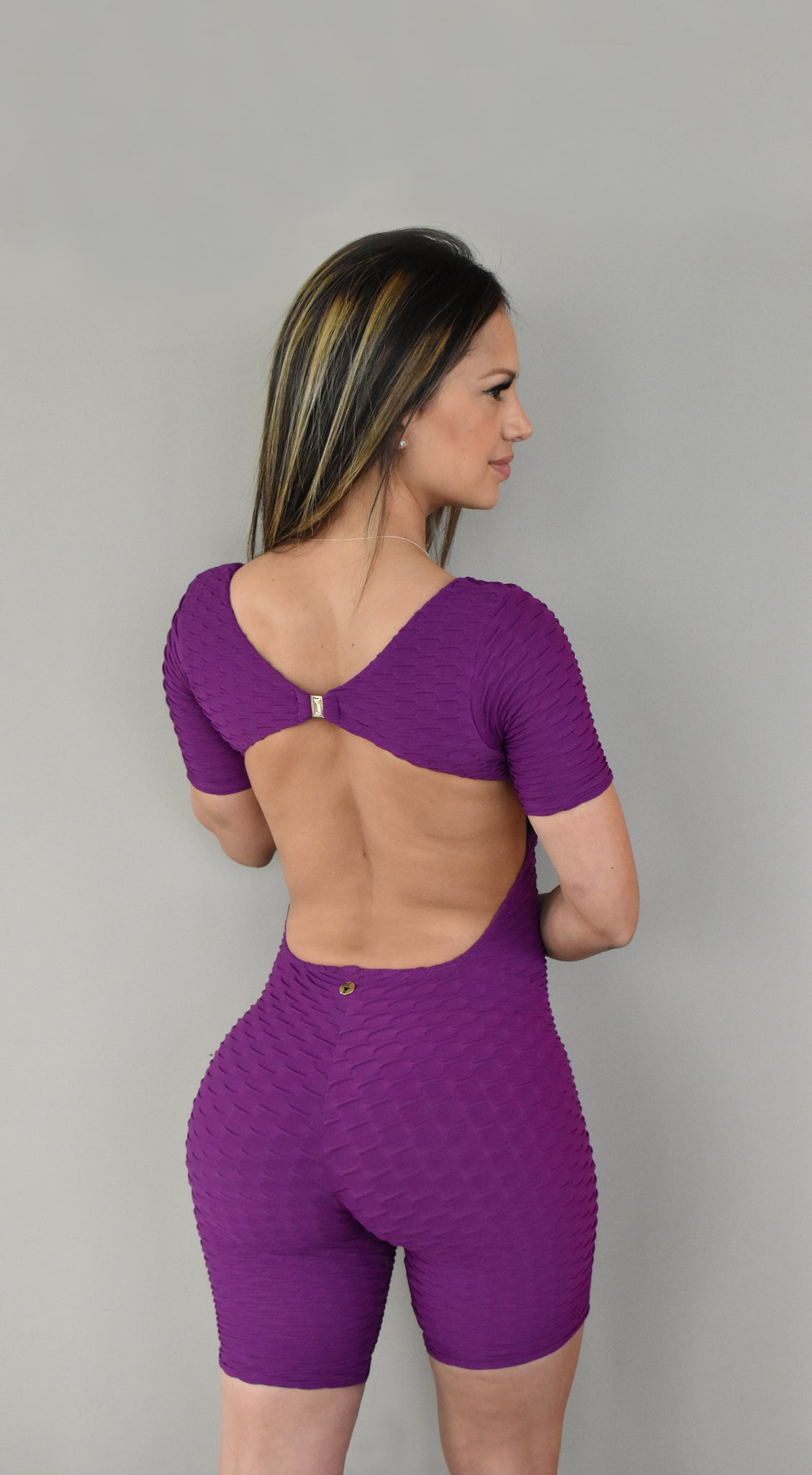 Dayse Shortsuit Purple