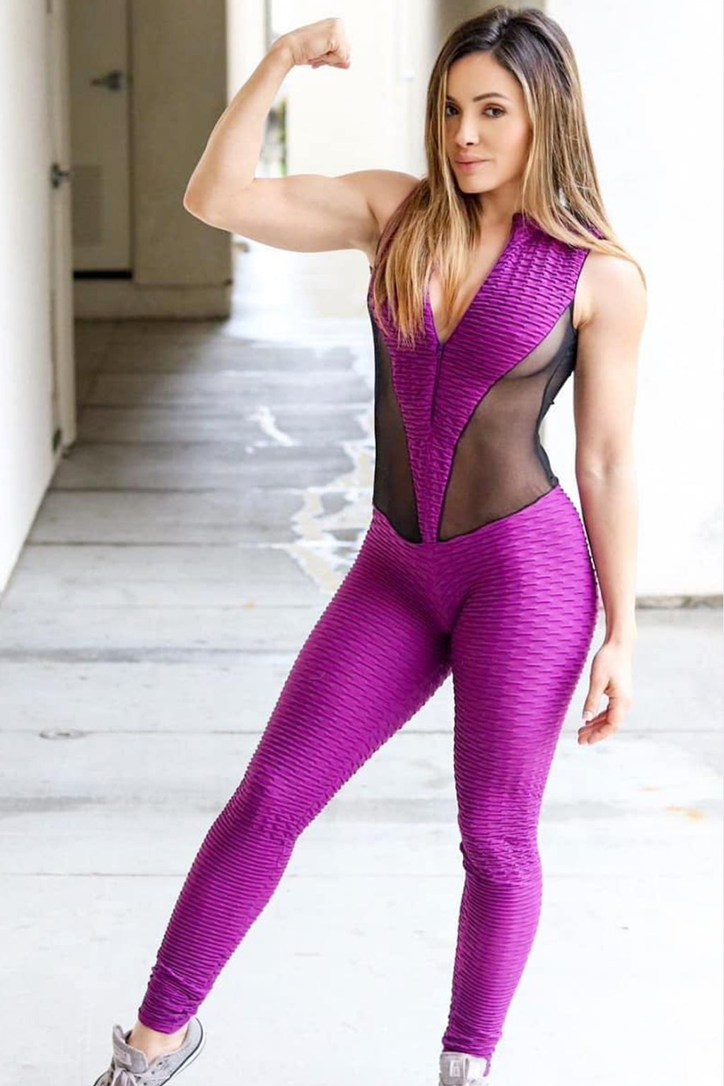 Valeria - Black/Purple