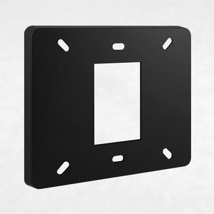 Black Plastic Mounting Base Plate