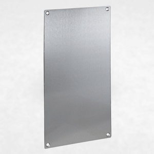 Blank Aluminum Faceplate for VE-5x10 and VE-5x10-PNL Series