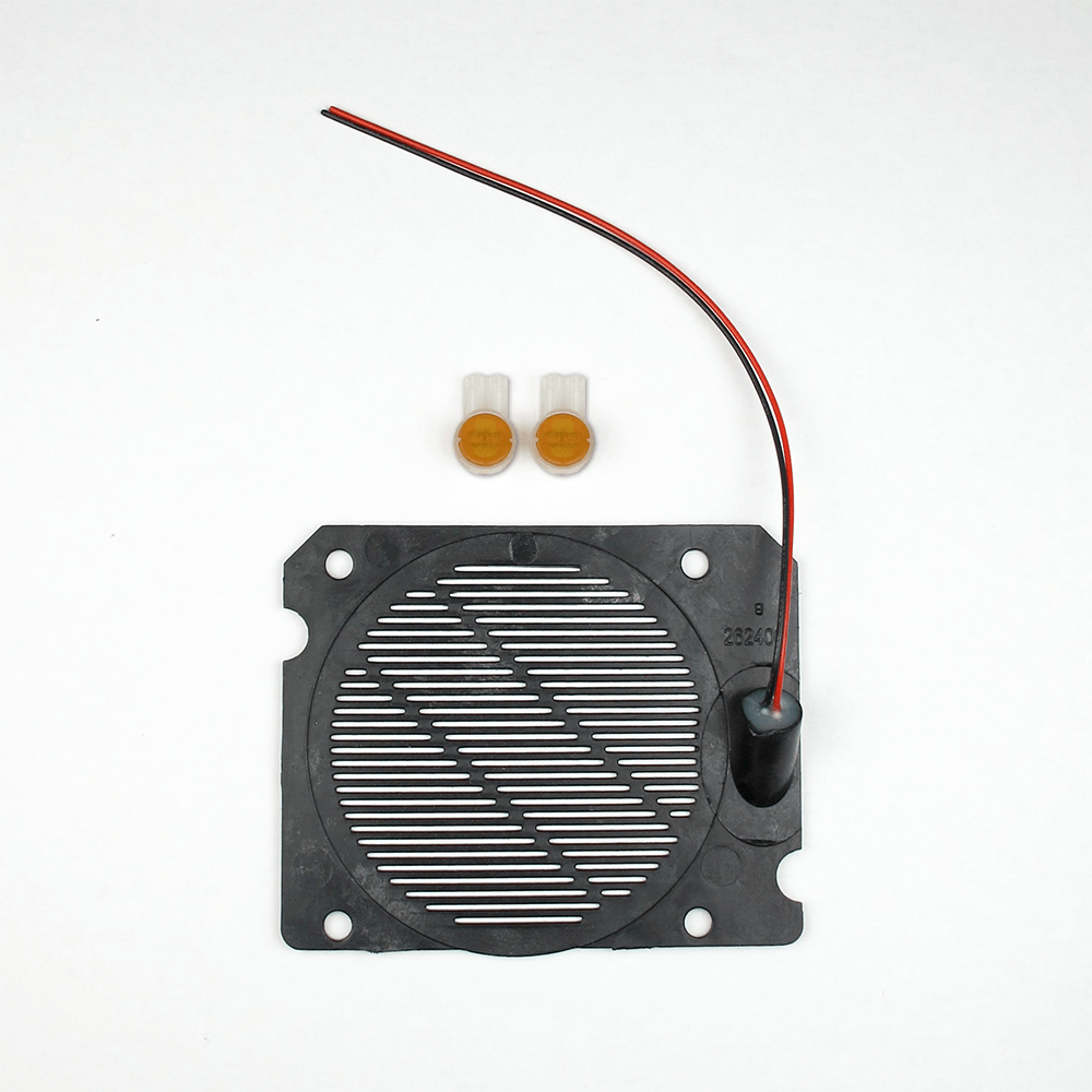 <h3>263414</h3> Plastic Speaker Screen, 6mm Microphone, and Mic Boot Kit for EWP Products