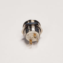 <h3>J103550</h3> Stainless Steel Button with Integrated Blue LED and Flush Actuator