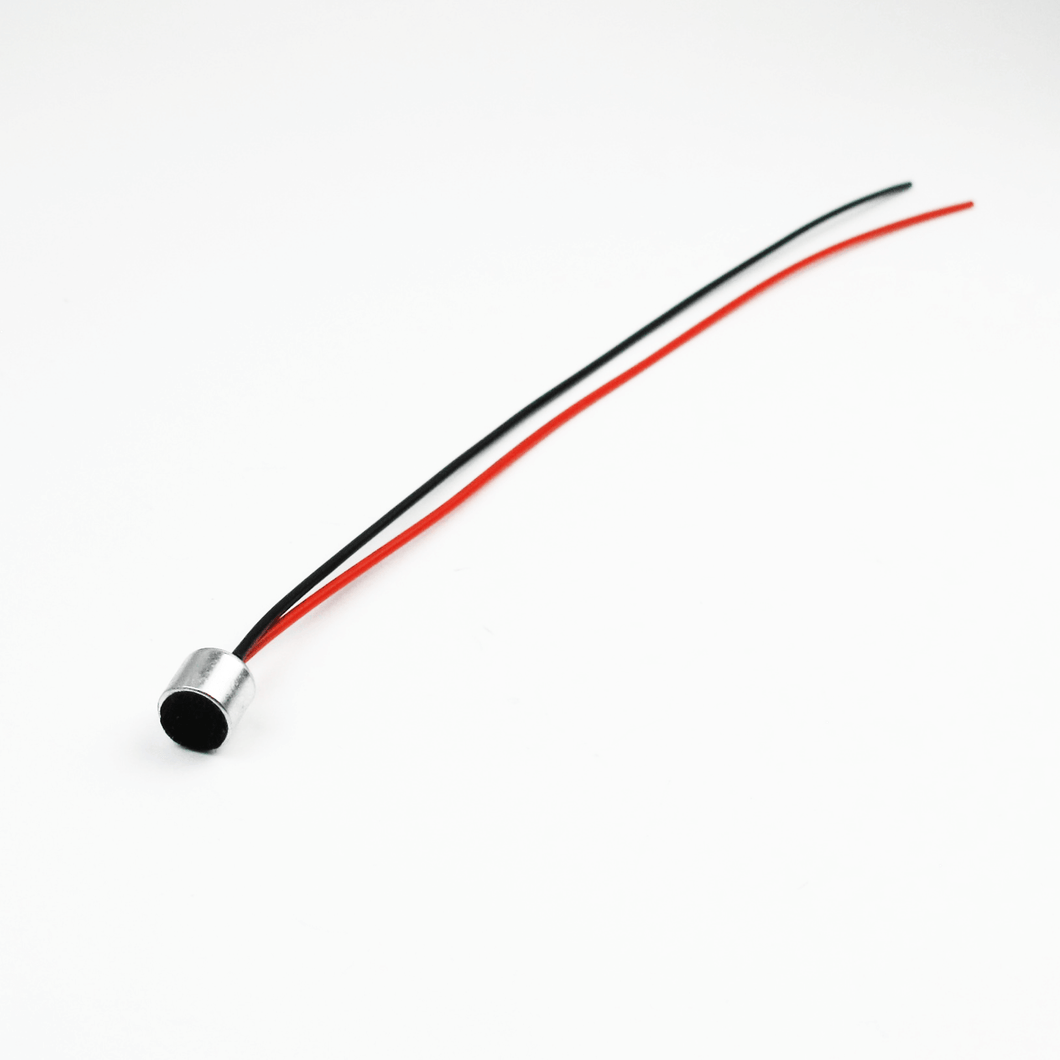 "<h3>Q171310</h3>  <p>2 Wire Microphone – 6 mm Diameter with 6"" Wires</p>"