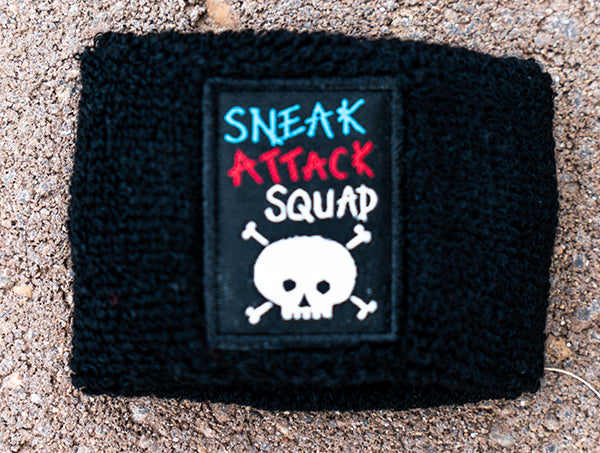 Official Sneak Attack Squad Black Sweat Band!