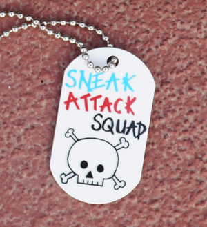 Sneak Attack Squad Dog Tag