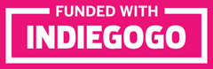 Funded with Indiegogo Logo