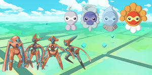 After Kyogre, A Special Weather Pokemon, Castform and The Legendary Deoxys! Both Will Have Four Forms?!
