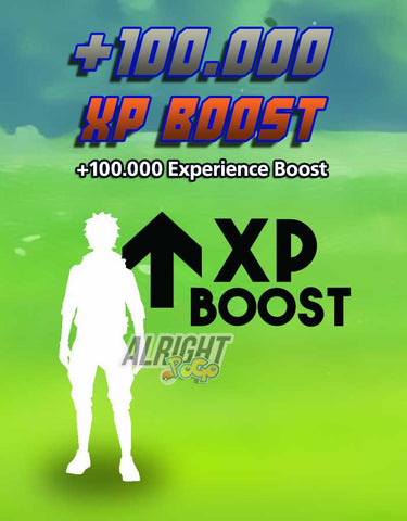 +100.000 XP Boost - Pokemon GO Boost