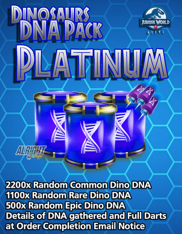 Dinosaurs DNA Pack - Platinum
