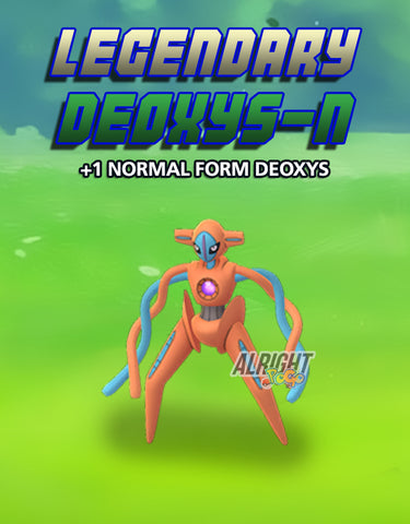 Legendary - Deoxys - Normal