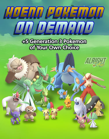 Hoenn Pokemon on Demand