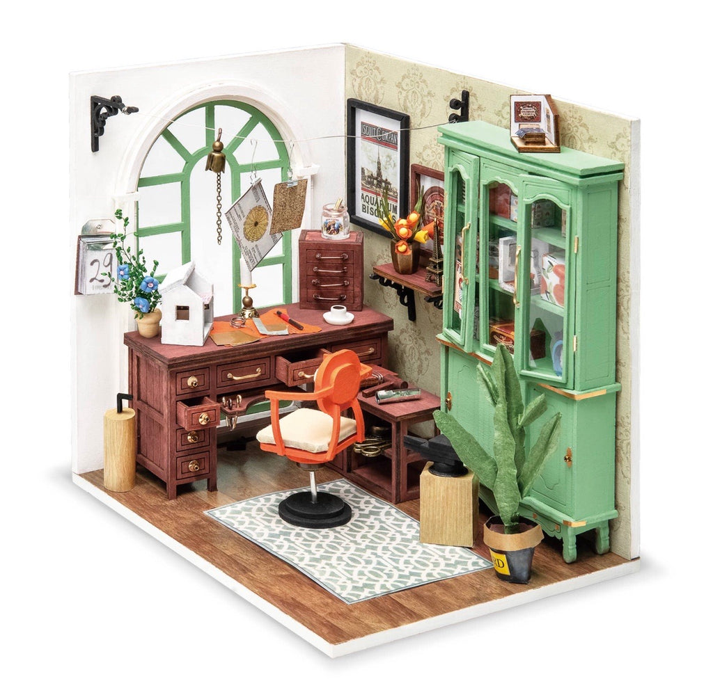 Jimmy's Studio, DIY Miniature Dollhouse Room