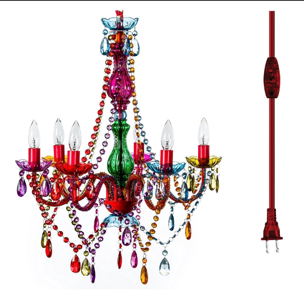 The Raggamuffin Chandelier (large)