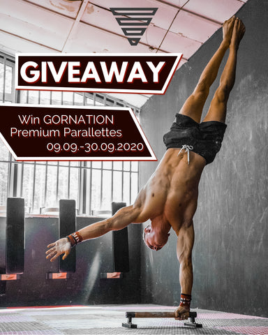 GORNATION Giveaway Parallettes