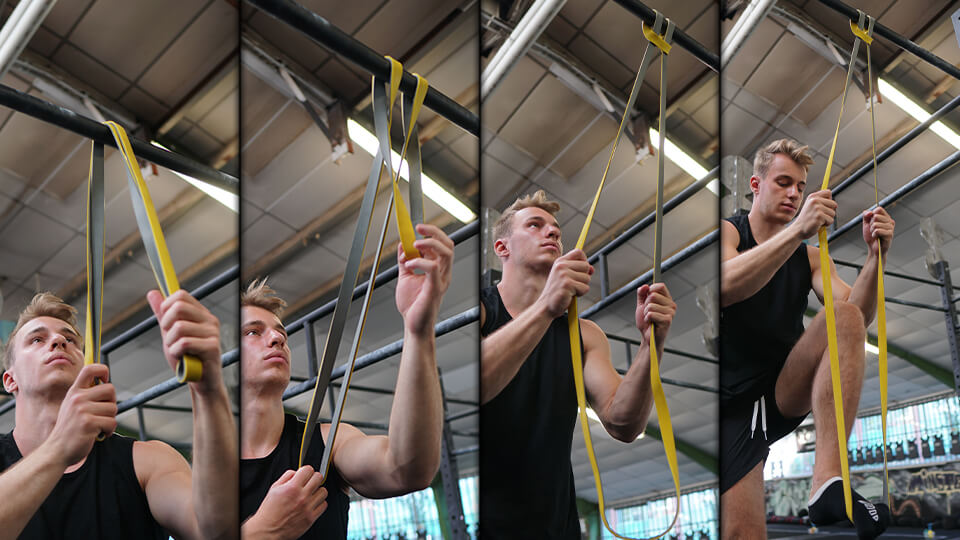 how to use the resistance bands