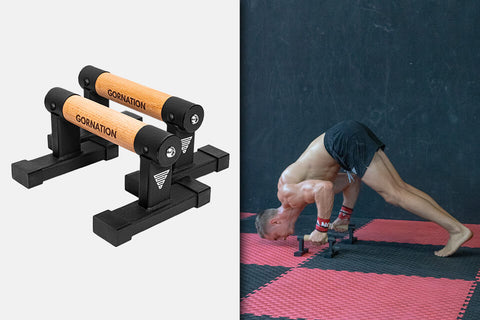 low parallettes for push ups