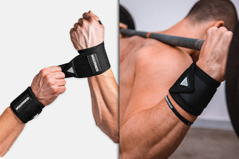 wrist wraps for weighted training