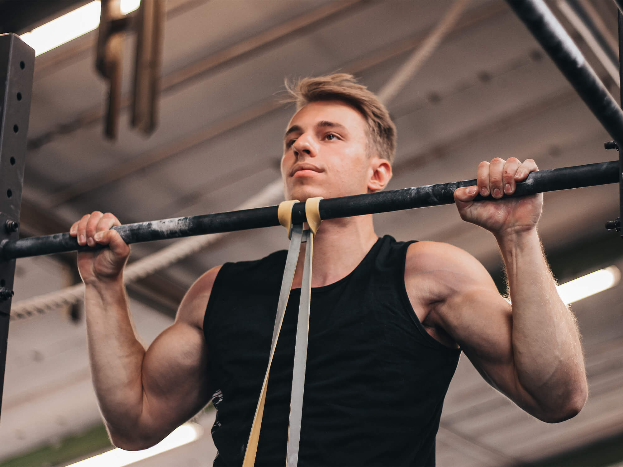 pull ups with resistance band