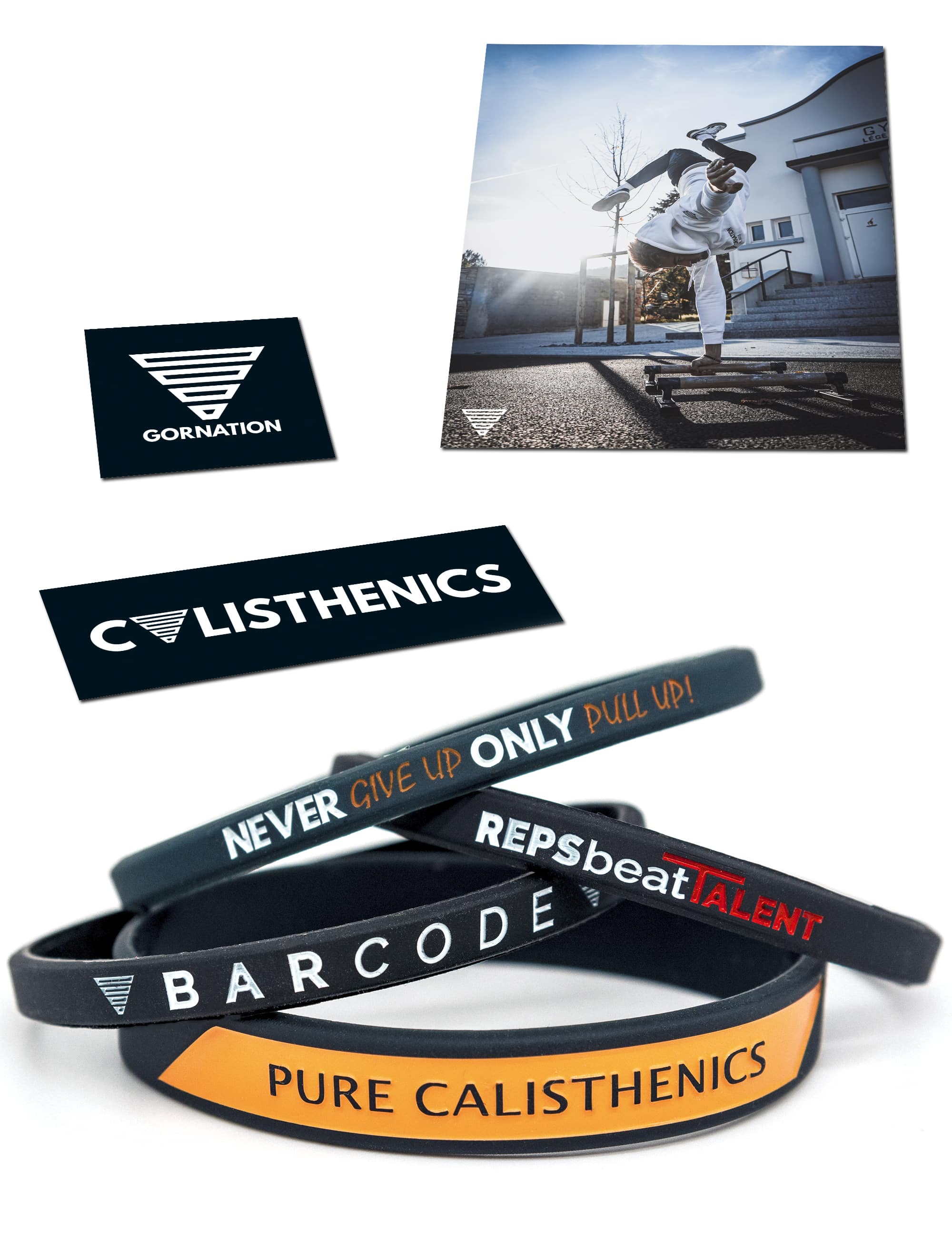 Mixed Wristbands Bundle (4 Pieces)