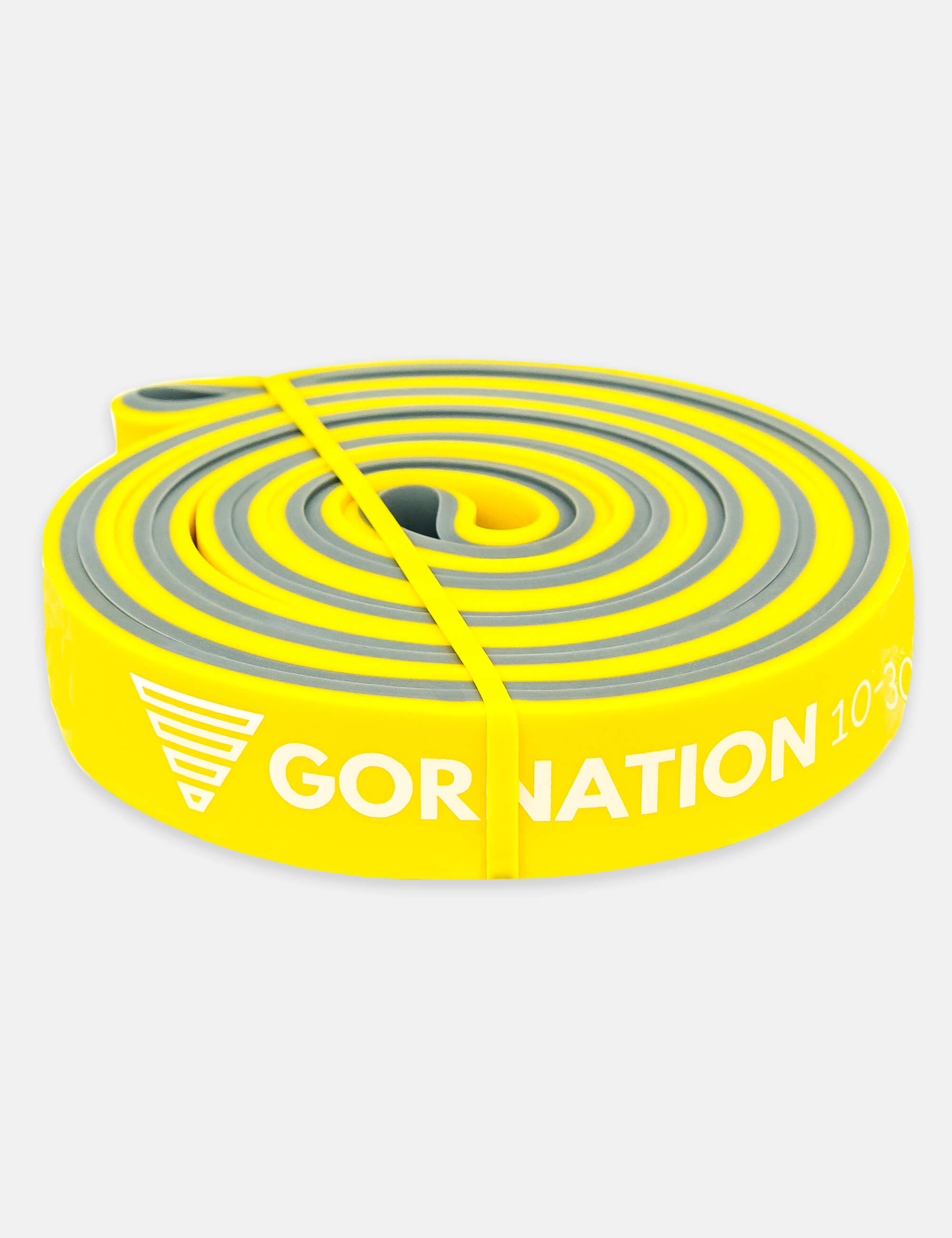 GORNATION Premium Resistance Bands Yellow for Home Workouts, Calisthenics, Crossfit, Gym