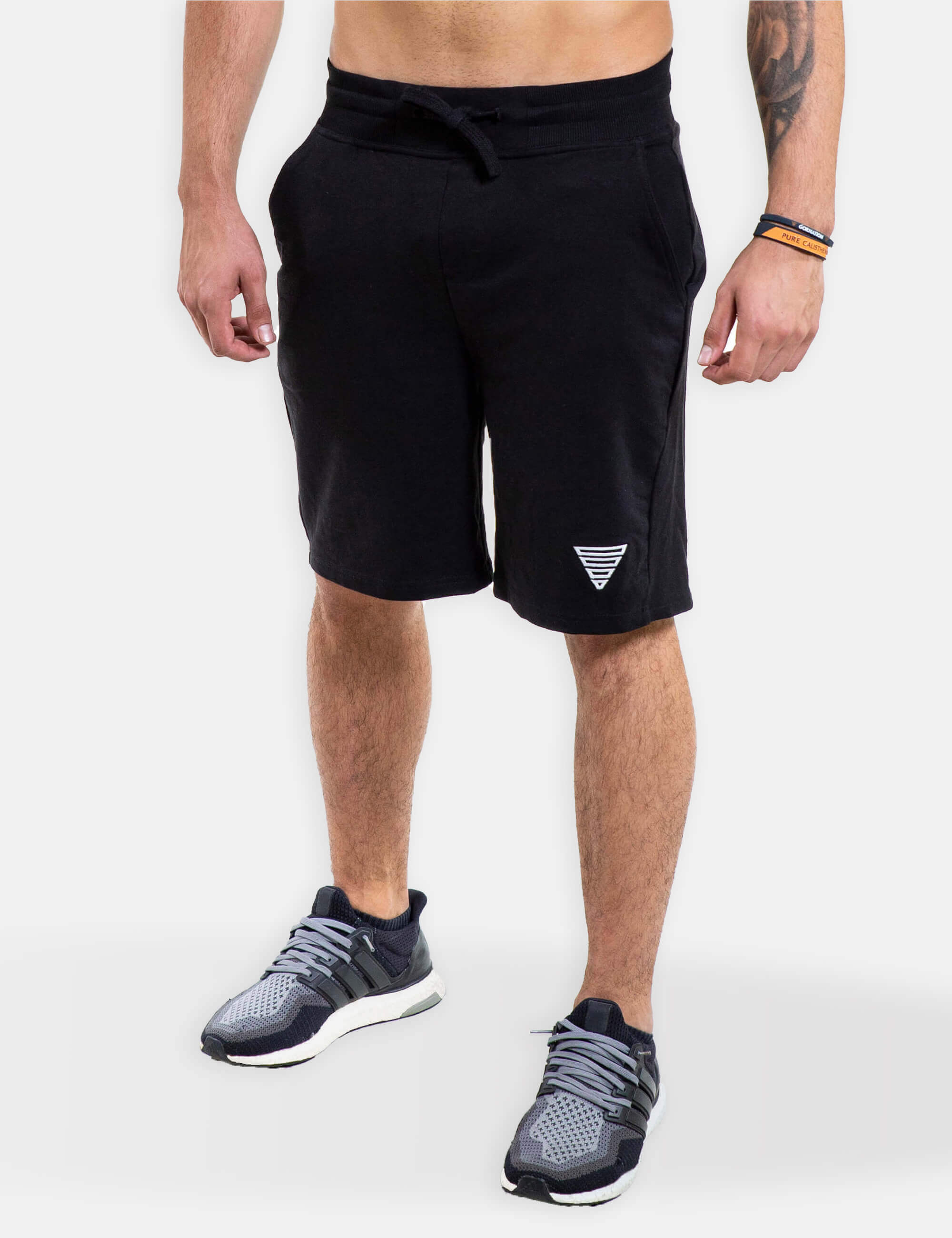 Calisthenics & Street Workout GORNATION Heavy Shorts Men Black