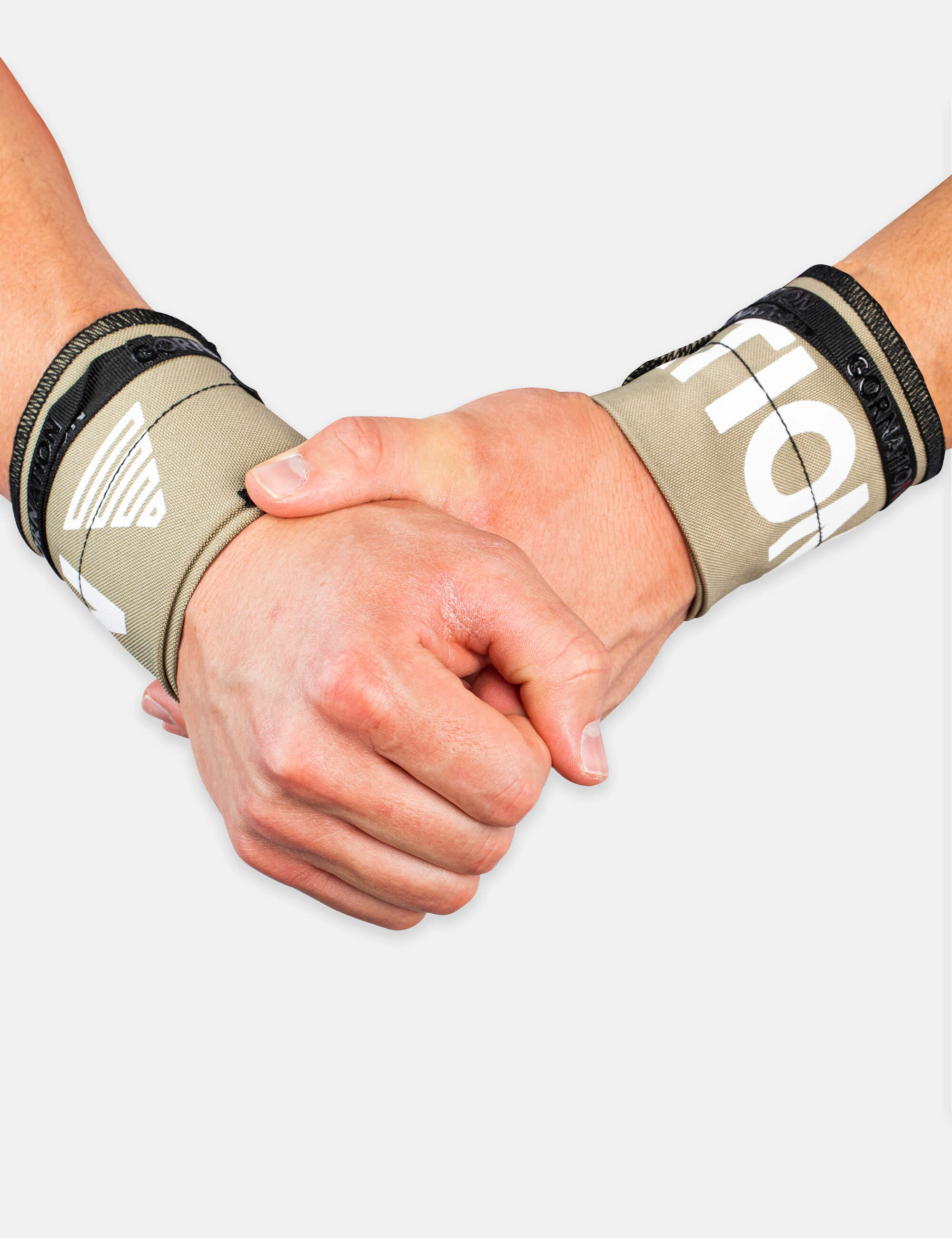 Olive Gornation Wrist wraps with tight fit, adjustable wristband for wrist support and injury prevention