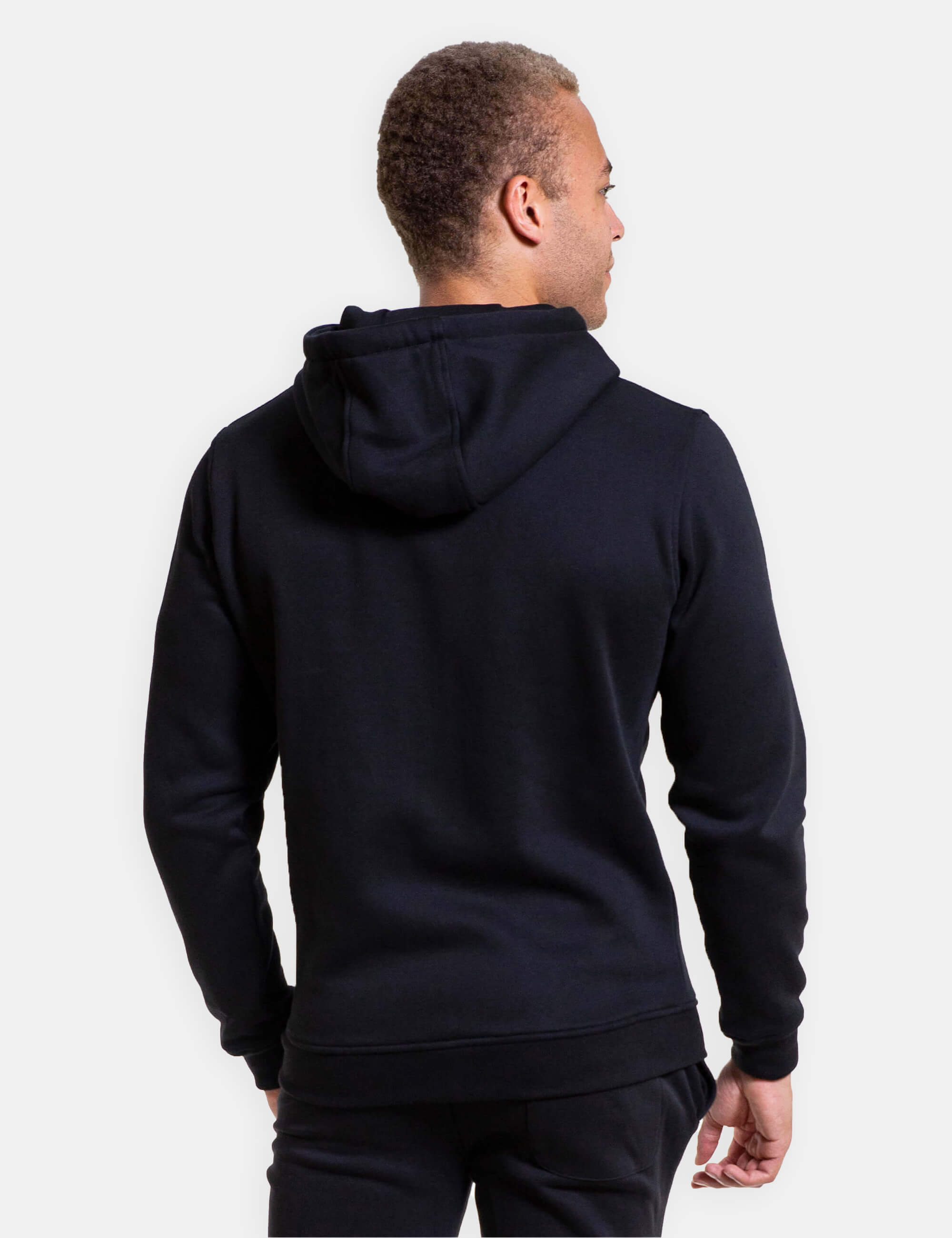 Male Calisthenics Zip Hoodie with a GORNATION Logo