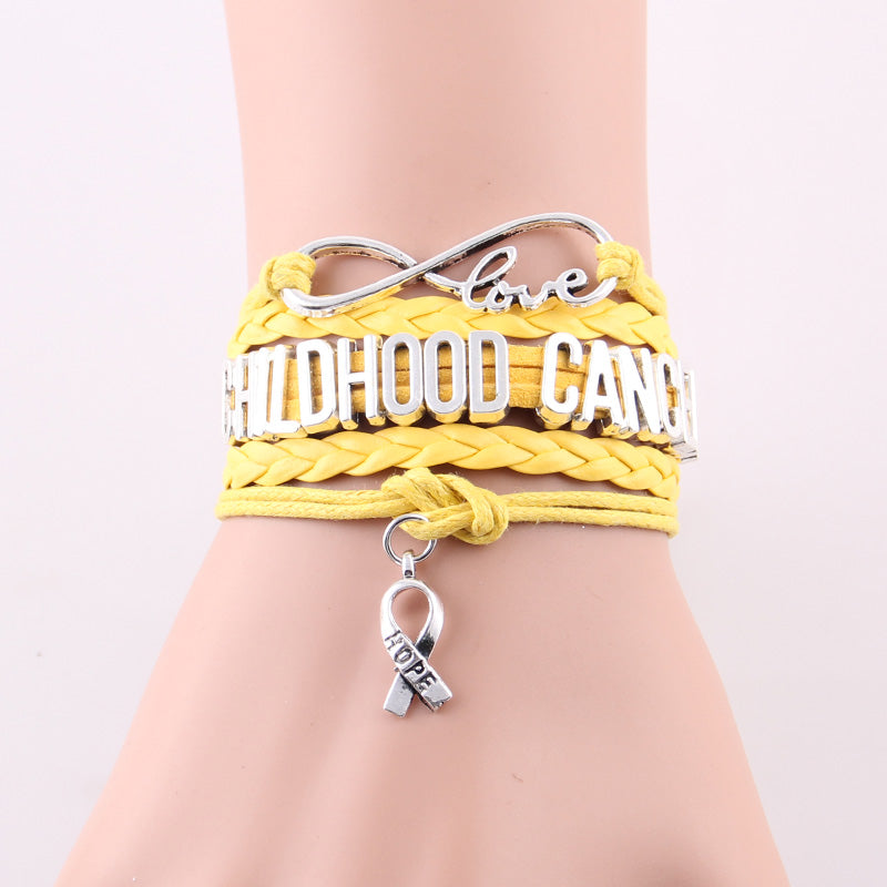 Childhood Cancer hope bracelet for Childhood Cancer Awareness