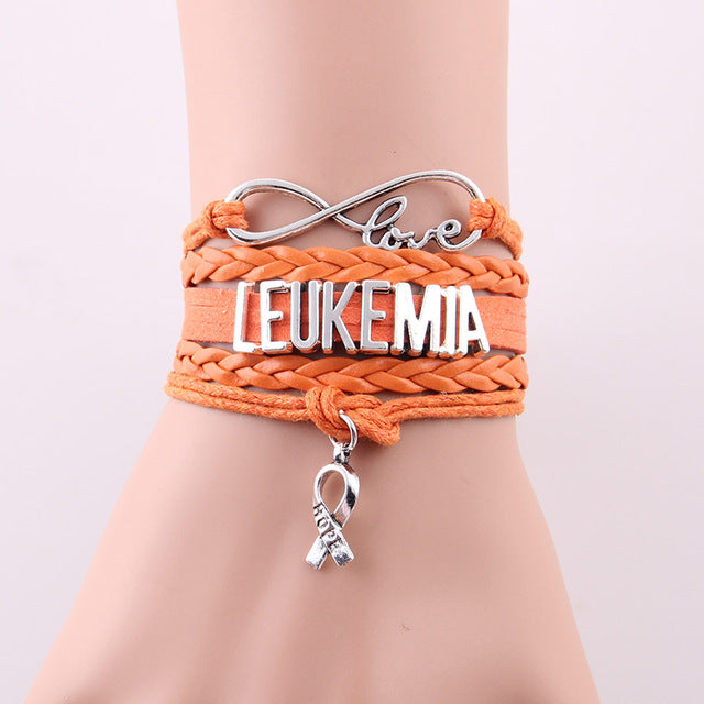 Leukemia hope bracelet for Leukemia Awareness
