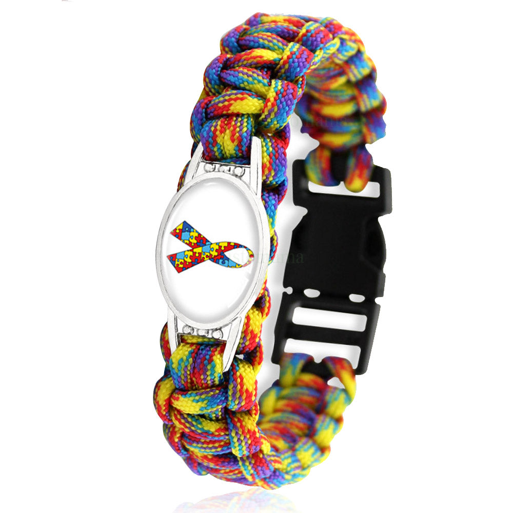 Puzzle Pieces Autism Awareness Hope Bracelet