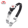 Heart Charm Custom Engraved Medical Alert ID Bracelet for Female Patients