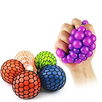Anti-Stress Mesh Squash Ball - Finger-Gadgets