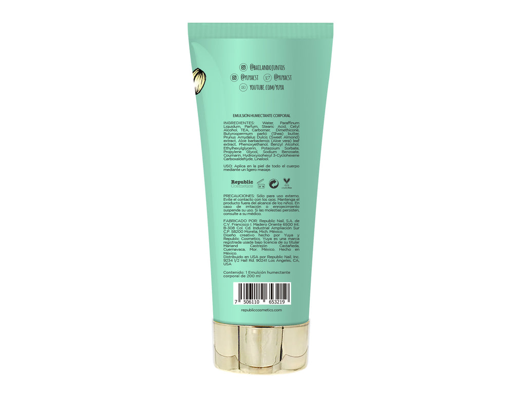 "Moisturizing body cream ""Vainilla para el alma"" - Republic Cosmetics US"