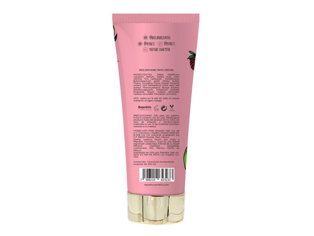 "Moisturizing body cream ""Amor, Mucho Amor"" - Republic Cosmetics US"